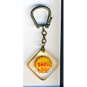 PORTE CLES BOURBON SHELL - LOGO COQUILLE