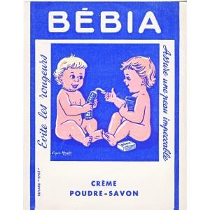 BUVARD BEBIA - CREME POUDRE SAVON