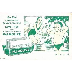 BUVARD SAVON DE TOILETTE PALMOLIVE - EN ETE