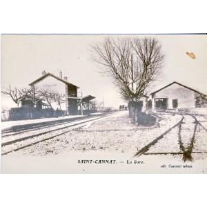 CP13 SAINT CANNAT - LA GARE
