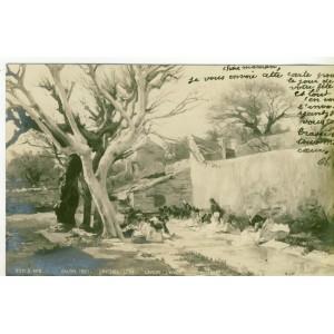 CP13 - SALON 1901 - LAVOIR L'HIVER