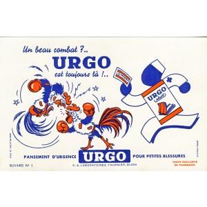 BUVARD URGO - COMBAT DE COQS