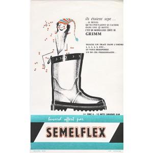 BUVARD SEMELFLEX - CONTE DE GRIMM - 1ère SERIE A