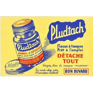 BUVARD PLUDTACH - APPAREIL A DETACHER