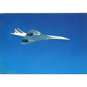 CARTE POSTALE AVIATION - CONCORDE