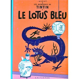 le-lotus-bleu-album-cartonne
