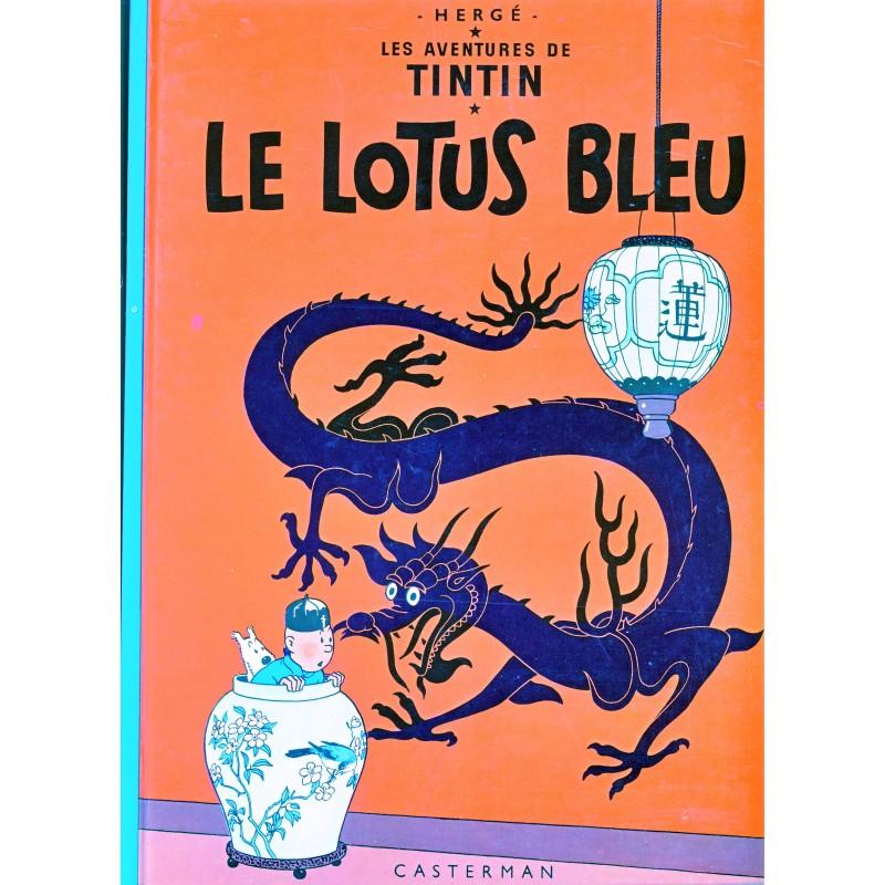 le-lotus-bleu-album-cartonne