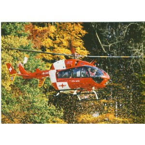 CARTE POSTALE AVIATION - EUROCOPTER EC 145