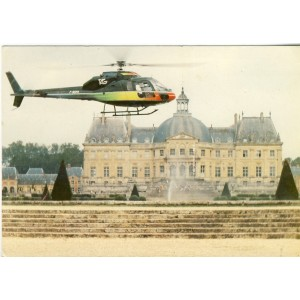 CARTE POSTALE AVIATION - AEROSPATIALE AS 355F ECUREUIL 2