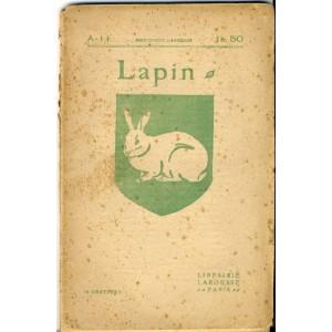 LIVRE - LAPIN - CLAPIER D'AMATEUR - CLAPIER D'ORNEMENT