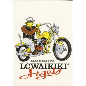 CARTE POSTALE MOTO - LC WAIKIKI ANGELS
