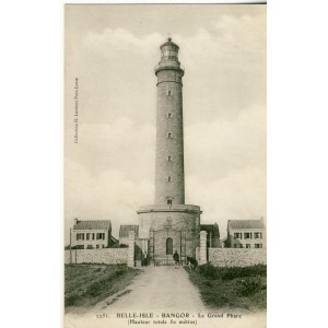 CARTE POSTALE LE GRAND PHARE BELLE-ISLE - BANGOR  (22)
