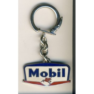 PORTE CLES METAL EMAILLE MOBIL