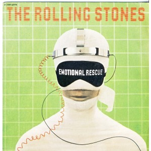 DISQUE 45 TOURS THE ROLLING STONES - EMOTIONAL RESCUE
