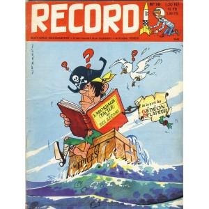 RECORD N° 10 - OCTOBRE 1962 - BAYARD MAGAZINE