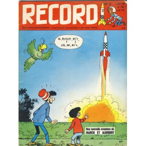 RECORD N° 11 - NOVEMBRE 1962 - BAYARD MAGAZINE