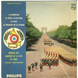 DISQUE 45 TOURS MUSIQUE DES GARDIENS DE LA PAIX DE  PARIS - 5ème SERIE