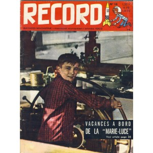 RECORD N° 16 AVRIL - 1963 - BAYARD MAGAZINE