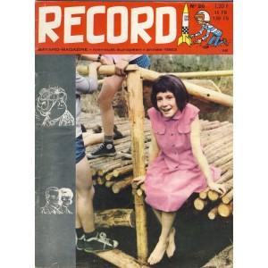 RECORD N° 20 - AOUT 1963 - BAYARD MAGAZINE