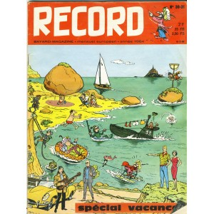 RECORD N° 30-31 - JUIN-JUILET 1964 - SPECIAL VACANCES - BAYARD MAGAZINE