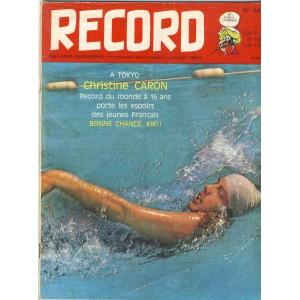 RECORD N° 34 - OCTOBRE 1964 - BAYARD MAGAZINE.
