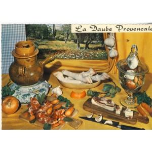 RECETTE EMILIE BERNARD N° 132 - LA DAUBE PROVENCALE