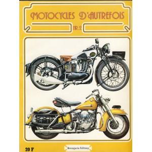 LIVRE - MOTOCYCLES D'AUTREFOIS N°2