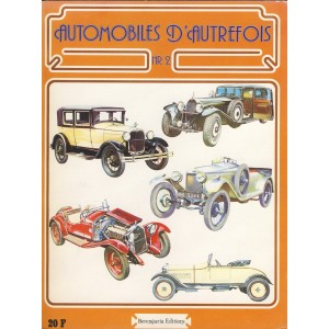 LIVRE - AUTOMOBILES D'AUTREFOIS N°2