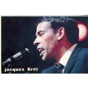 CARTE JACQUES BREL