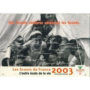 CALENDRIER 2003 DES SCOUTS DE FRANCE