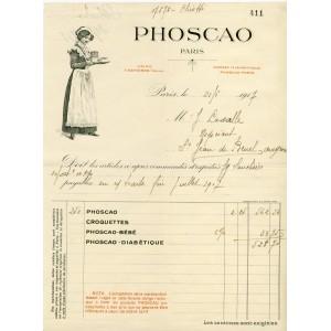 FACTURE PHOSCAO - PARIS