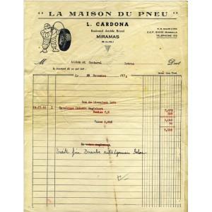 FACTURE MICHELIN - LA MAISON DU PNEU - MIRAMAS (13)