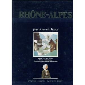 LIVRE - RHONE -ALPES - PAYS ET GENS DE FRANCE