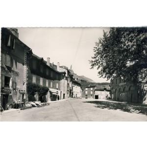 CP48 ISPAGNAC - PLACE DE LA MAIRIE