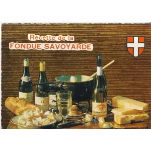 RECETTE DE CUISINE EMILIE BERNARD N° 8 -  FONDUE SAVOYARDE