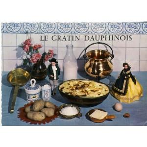 RECETTE DE CUISINE EMILIE BERNARD N° 26 -  LE GRATIN DAUPHINOIS