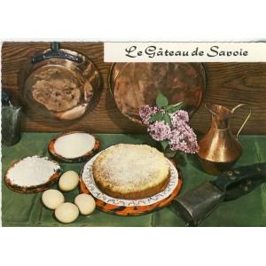 RECETTE DE CUISINE EMILIE BERNARD N° 70 - LE GATEAU DE SAVOIE