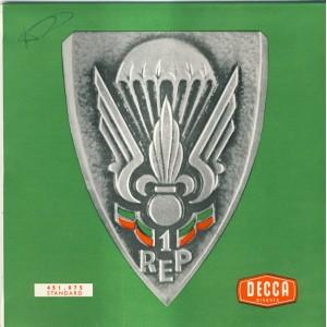 DISQUE 45 TOURS EP - CHOEURS DU 1er R.E.P. - 1962