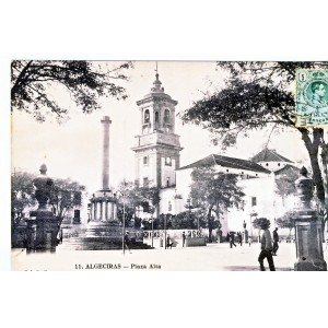 CARTE POSTALE ALGECIRAS - PLAZA ALTA
