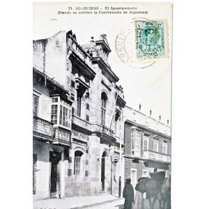 CARTE POSTALE ALGECIRAS - EL AYUNTAMIENTO