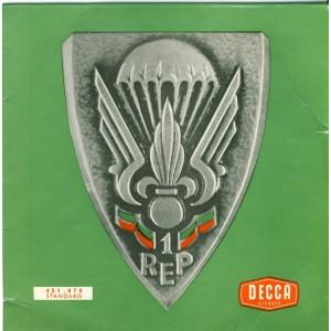 DISQUE 45 TOURS EP - CHOEURS DU 1er R.E.P.