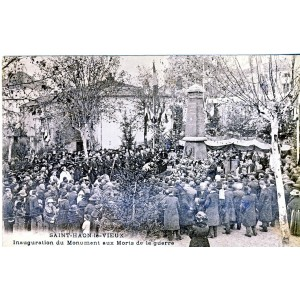 cp42-saint-haon-le-vieux-inauguration-du-monument-aux-morts-de-la-guerre