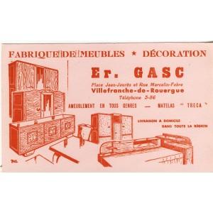BUVARD FABRIQUE DE MEUBLES - DECORATION GASC