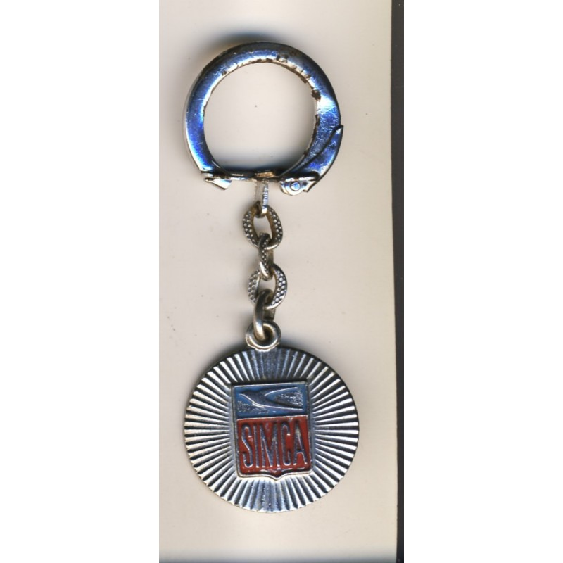 Porte cles simca logo hirondelle metal emaille for Garage peugeot selestat