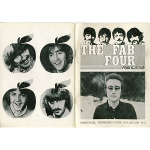 THE BEATLES - THE FAB FOUR PUBLICATION N°2