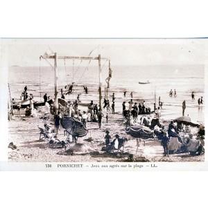 cp44-pornichet-jeux-aux-agres-sur-la-plage