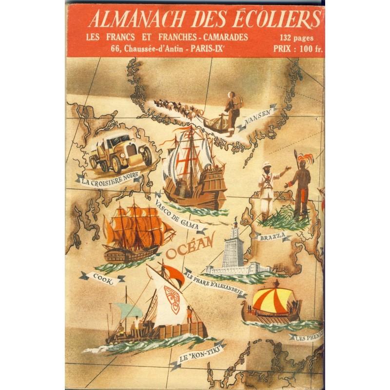 JEUNES ANNEES 1955 - ALMANACH DE L'ECOLIER ET DE L'ECOLIERE