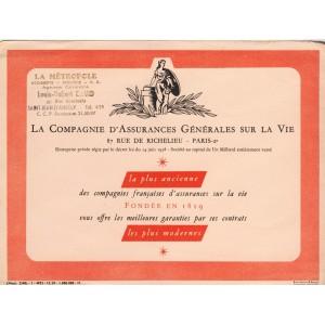 BUVARD COMPAGNIE GENERALE D'ASSURANCES SUR LA VIE