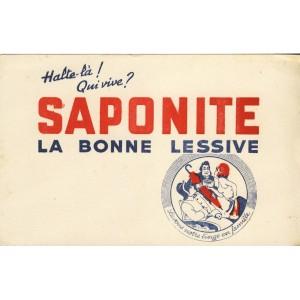 BUVARD SAPONITE LA BONNE LESSIVE