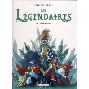 BANDE DESSINEE - LES LEGENDAIRES TOME 13 SANG ROYAL